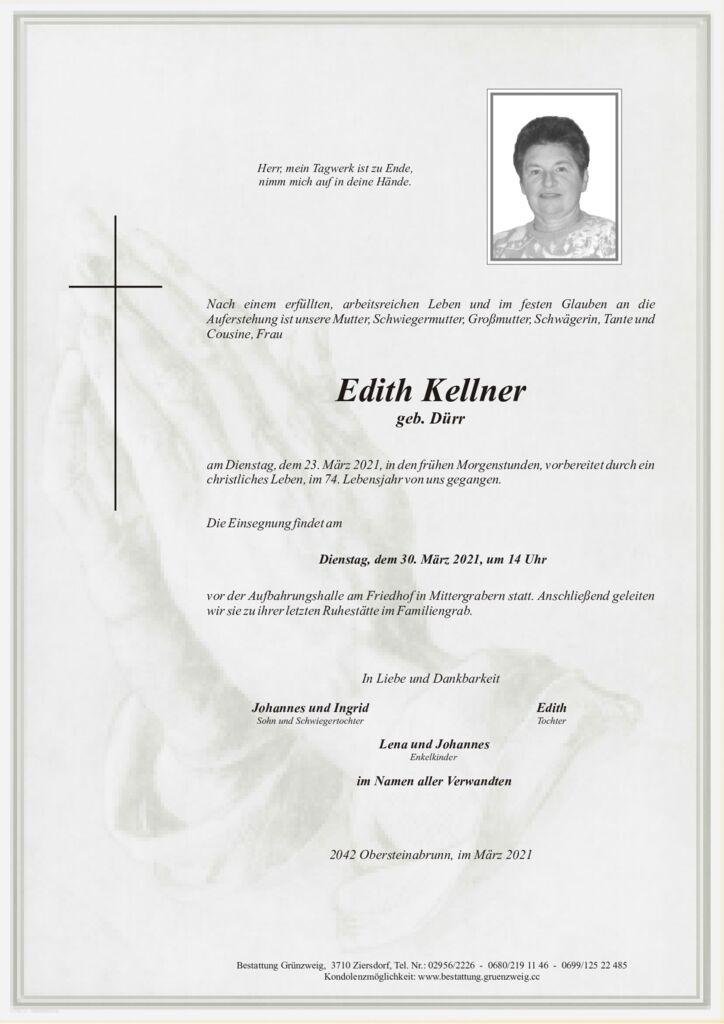 Edith Kellner