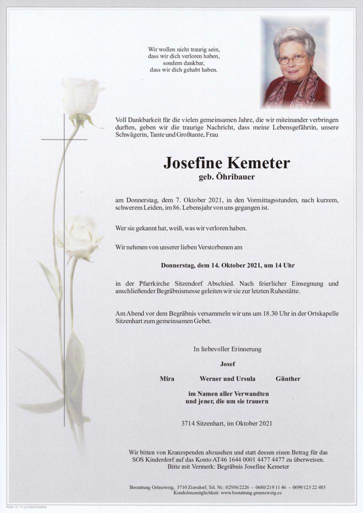 Josefine Kemeter