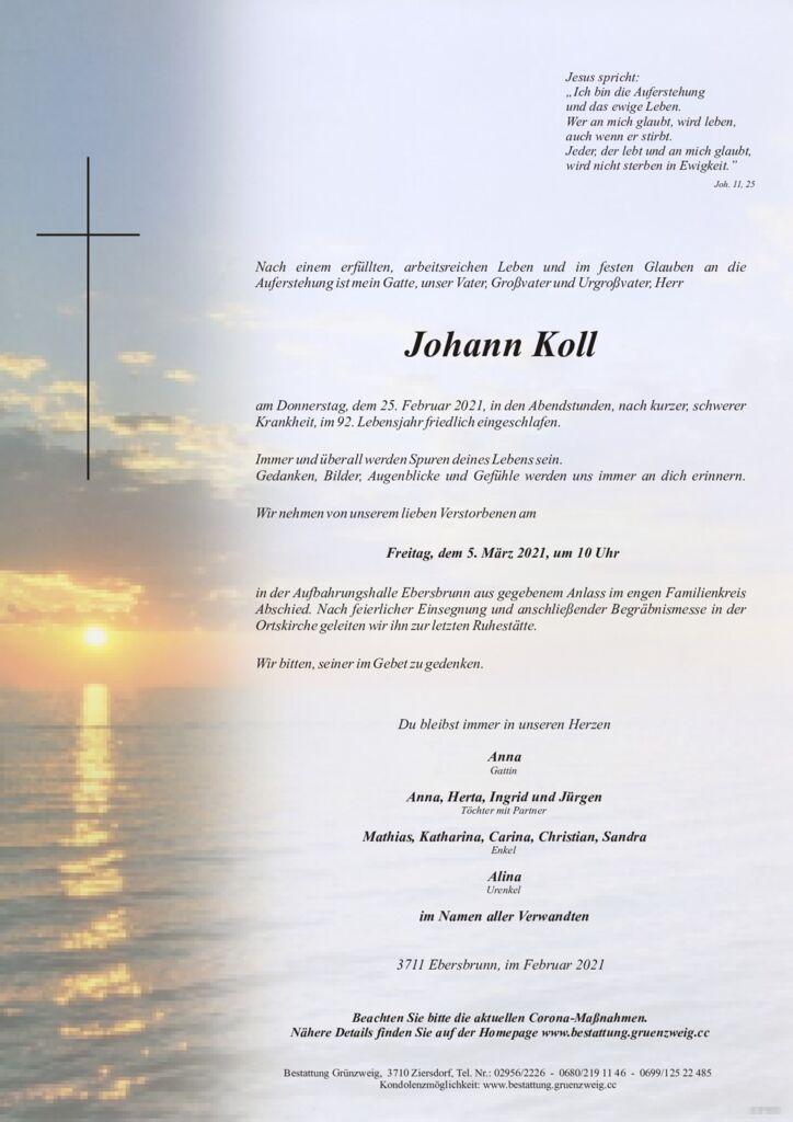 Johann Koll