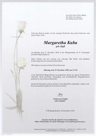 Margaretha Kuba
