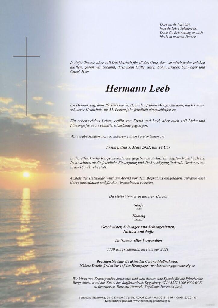 Hermann Leeb