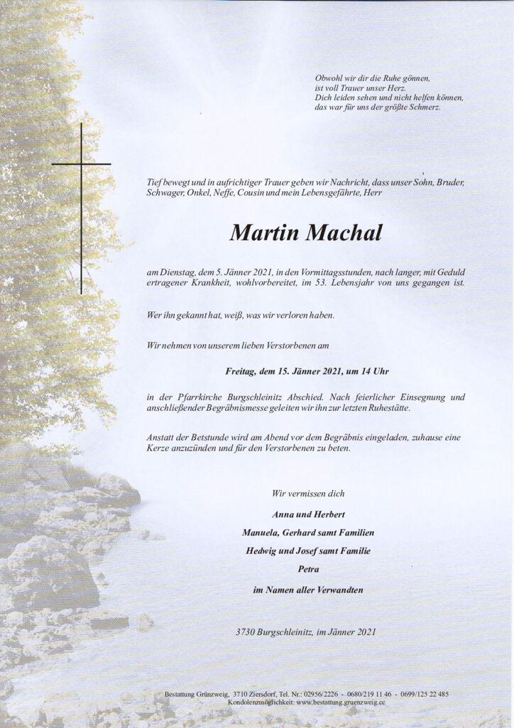 Martin Machal