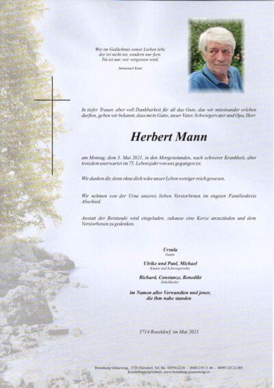 Herbert Mann