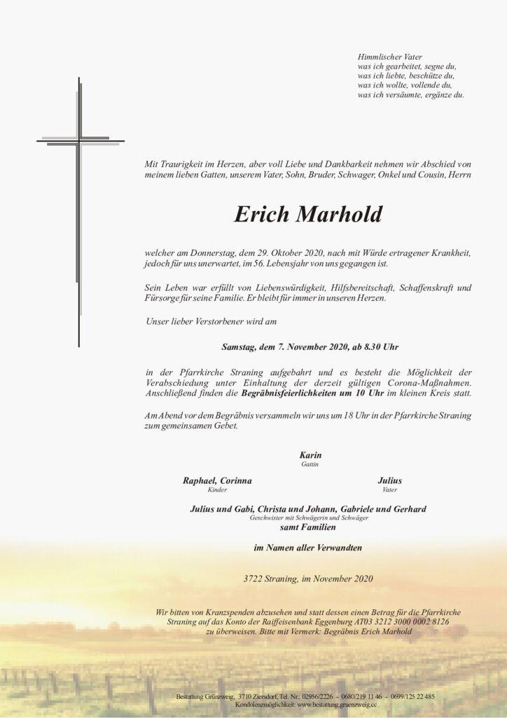 Erich Marhold