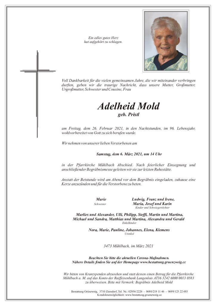 Adelheid Mold