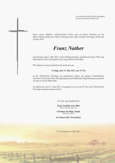 Franz Nather