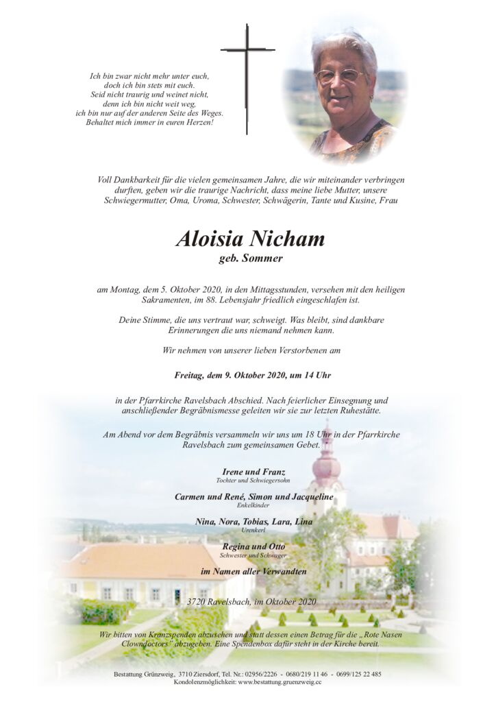 Aloisia Nicham