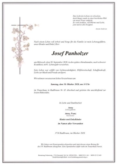 Josef Panholzer