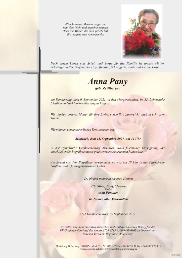Anna Pany