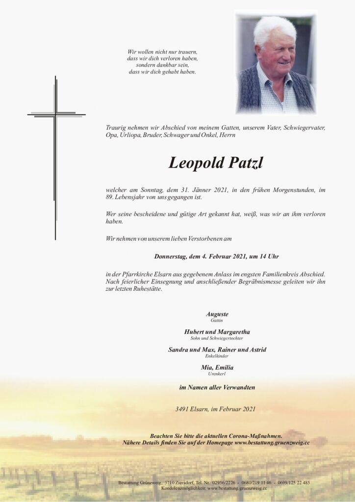 Leopold Patzl