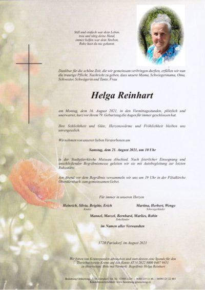 Helga Reinhart