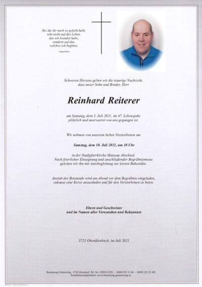 Reinhard Reiterer
