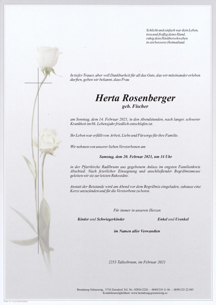 Herta Rosenberger
