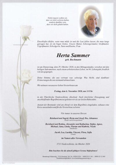 Herta Sammer