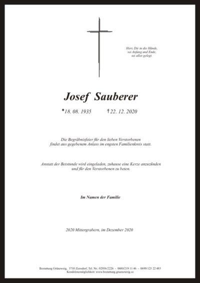 Josef Sauberer