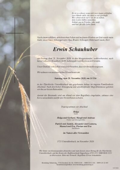 Erwin Schauhuber