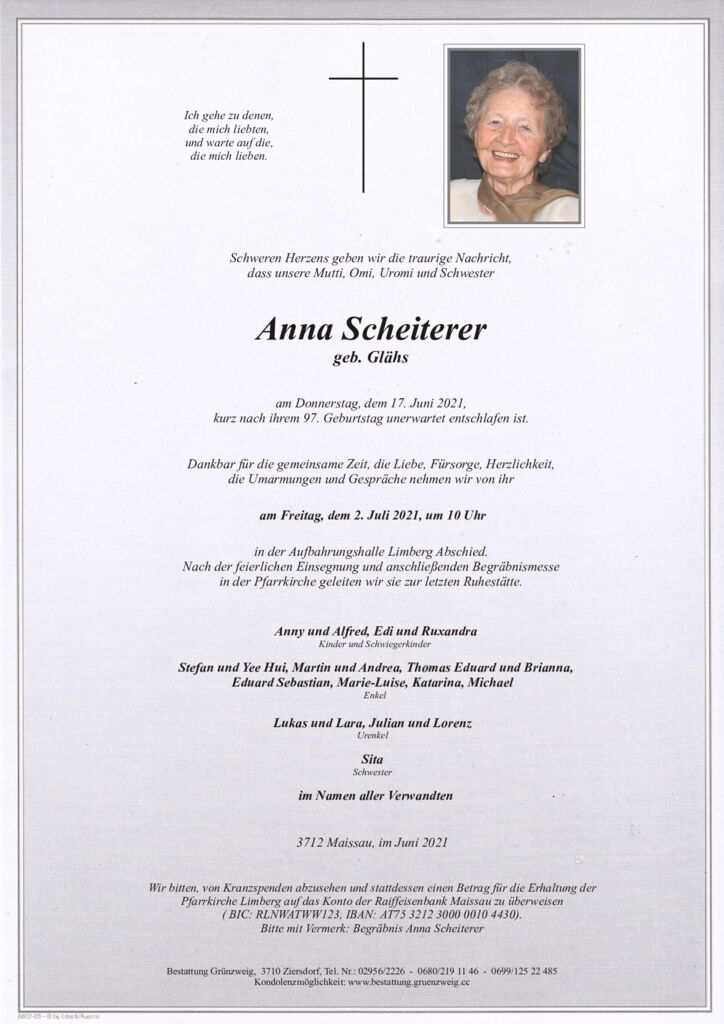 Anna Scheiterer