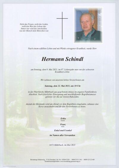 Hermann Schindl