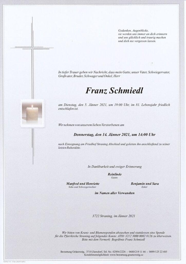 Franz Schmiedl