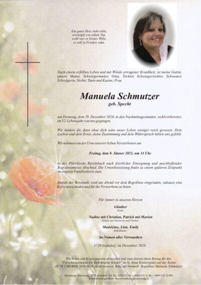 Manuela Schmutzer