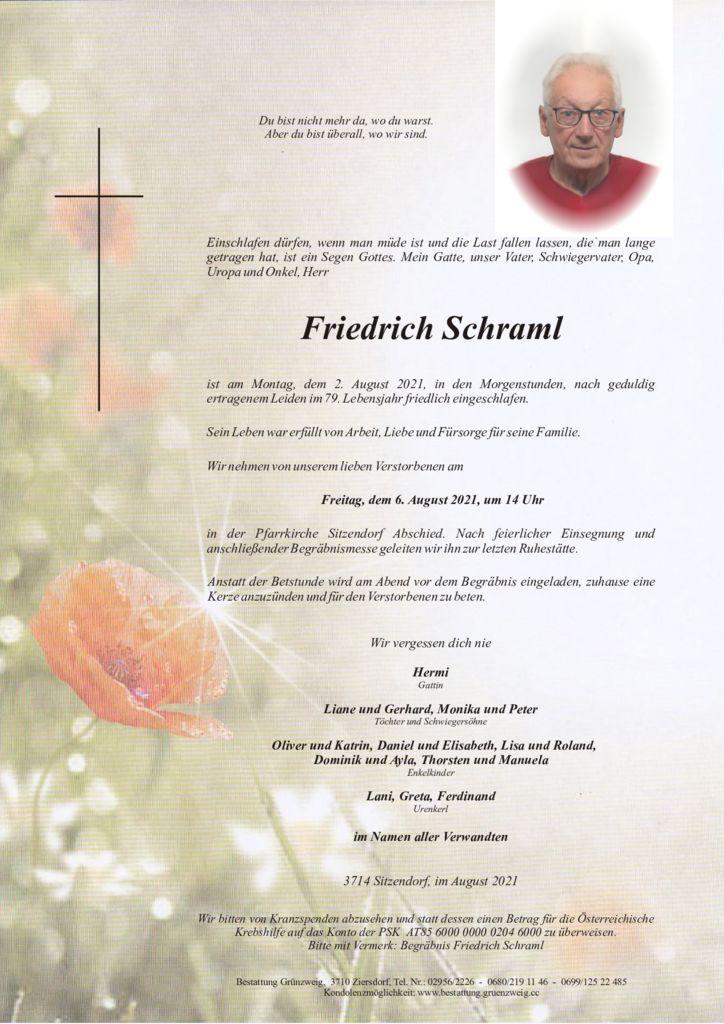 Friedrich Schraml