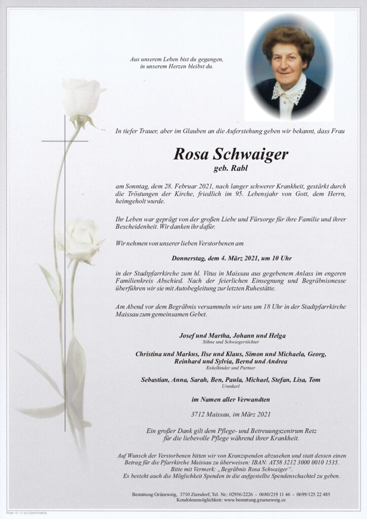 Rosa Schwaiger