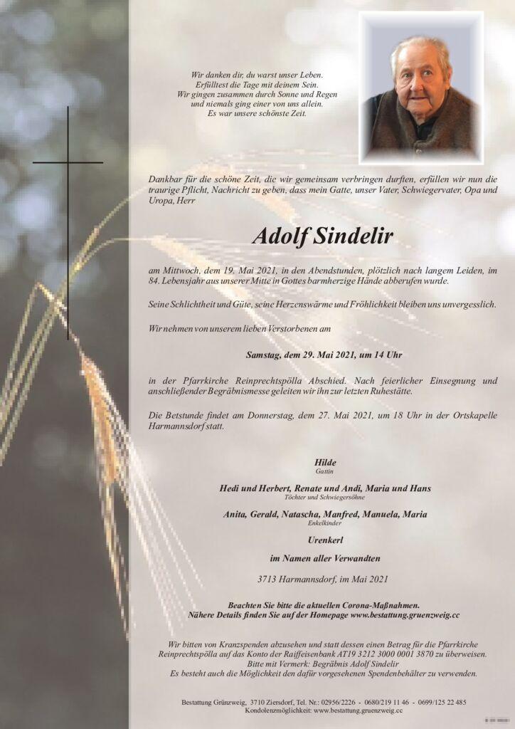 Adolf Sindelir