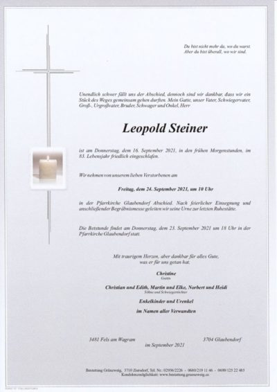 Leopold Steiner