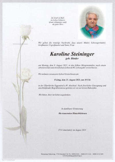 Karoline Steininger