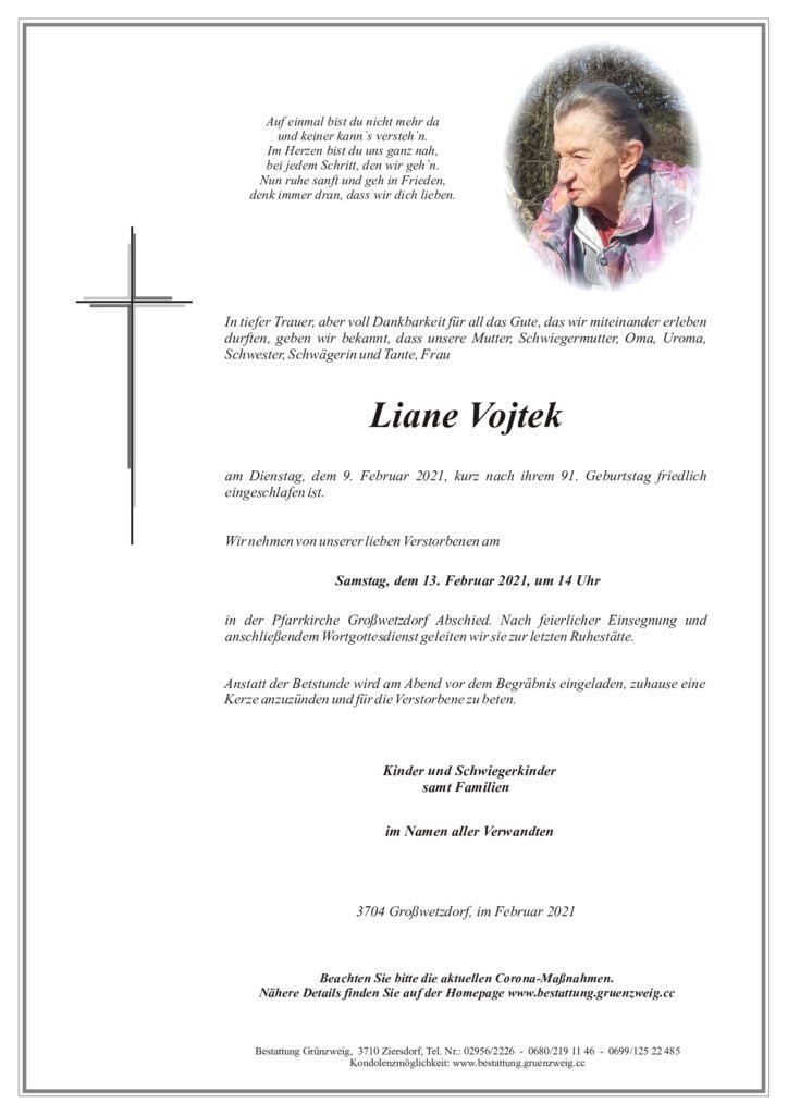 Liane Vojtek