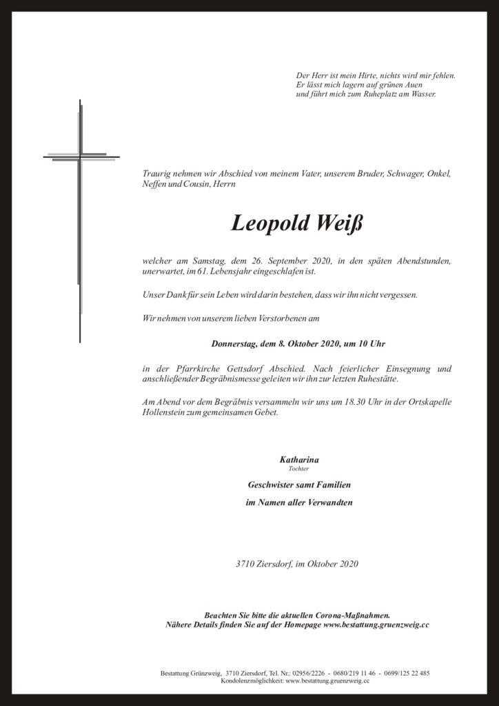 Leopold Weiß