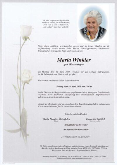 Maria Winkler