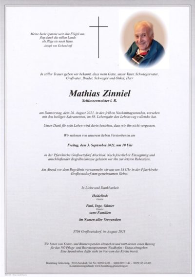 Mathias Zinniel